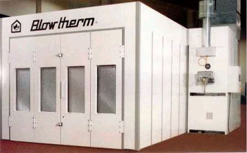 blowtherm spray booth