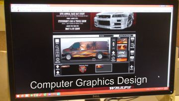 commercial vehicle graphics design